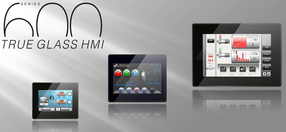 Exor Glass Series HMI Techmaster Inc